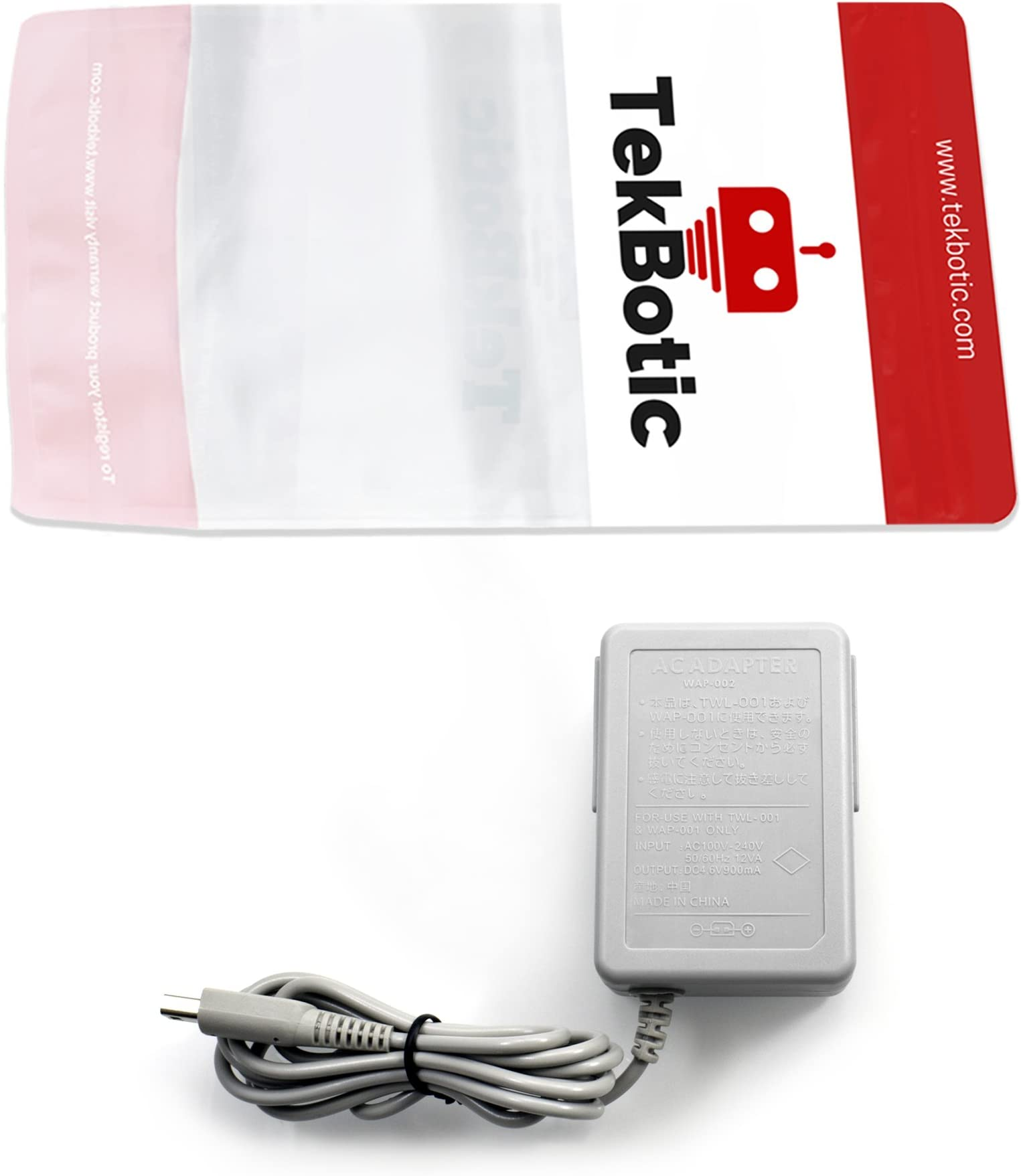 Amazon.com: tekbotic Play & Charge AC Adapter + Cable USB ...