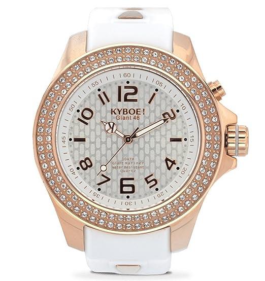 Reloj Analógico para Mujer Quartz goma blanco SW de 003 – 40