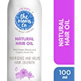 The Moms Co Natural 10-in-1 Baby Hair Oil, 100ml