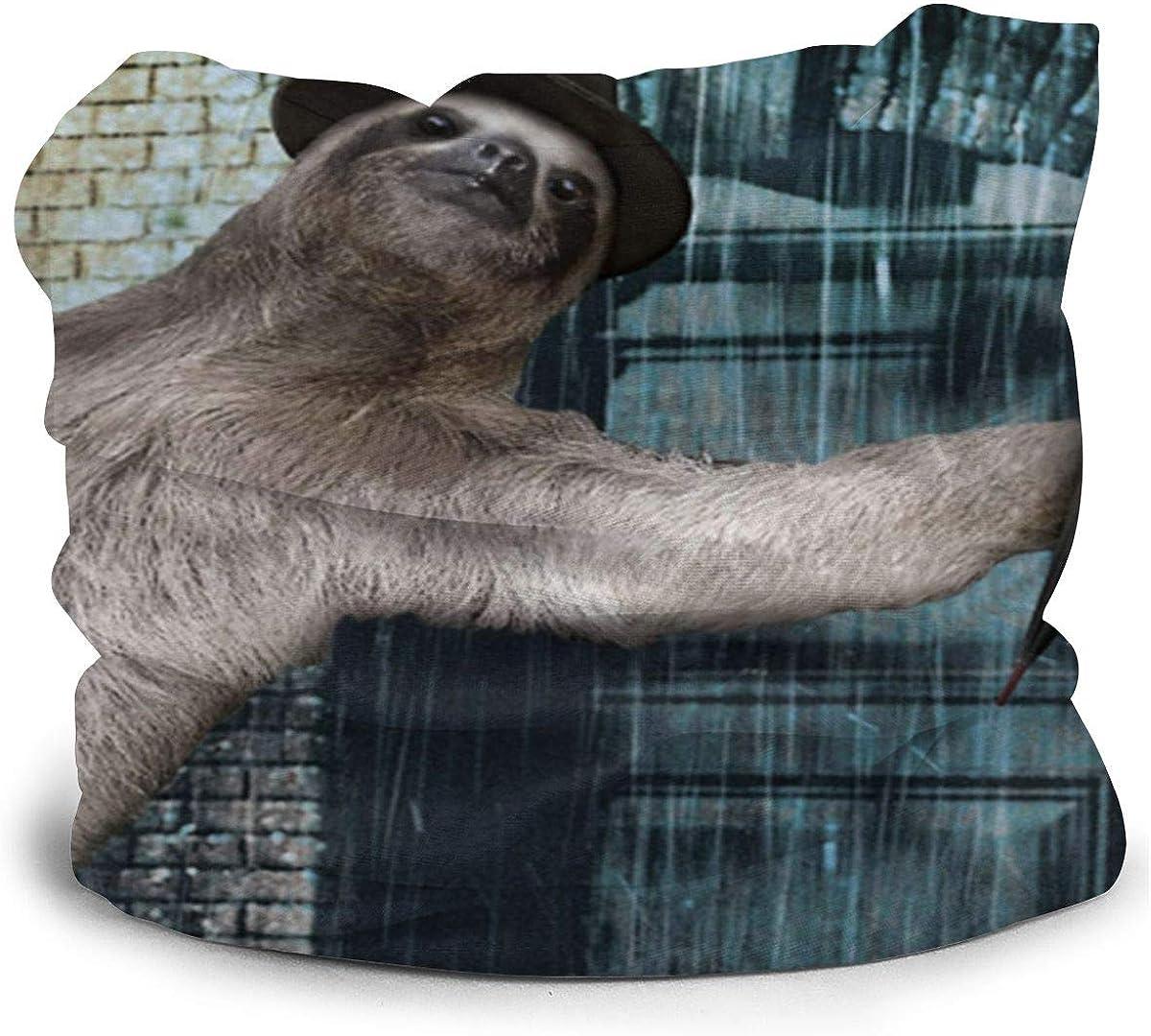 Hilarante pa/ñuelo de seda lavable de enfriamiento de pereza tubo de mascarilla de tela para ni/ños para protecci/ón solar contra el polvo