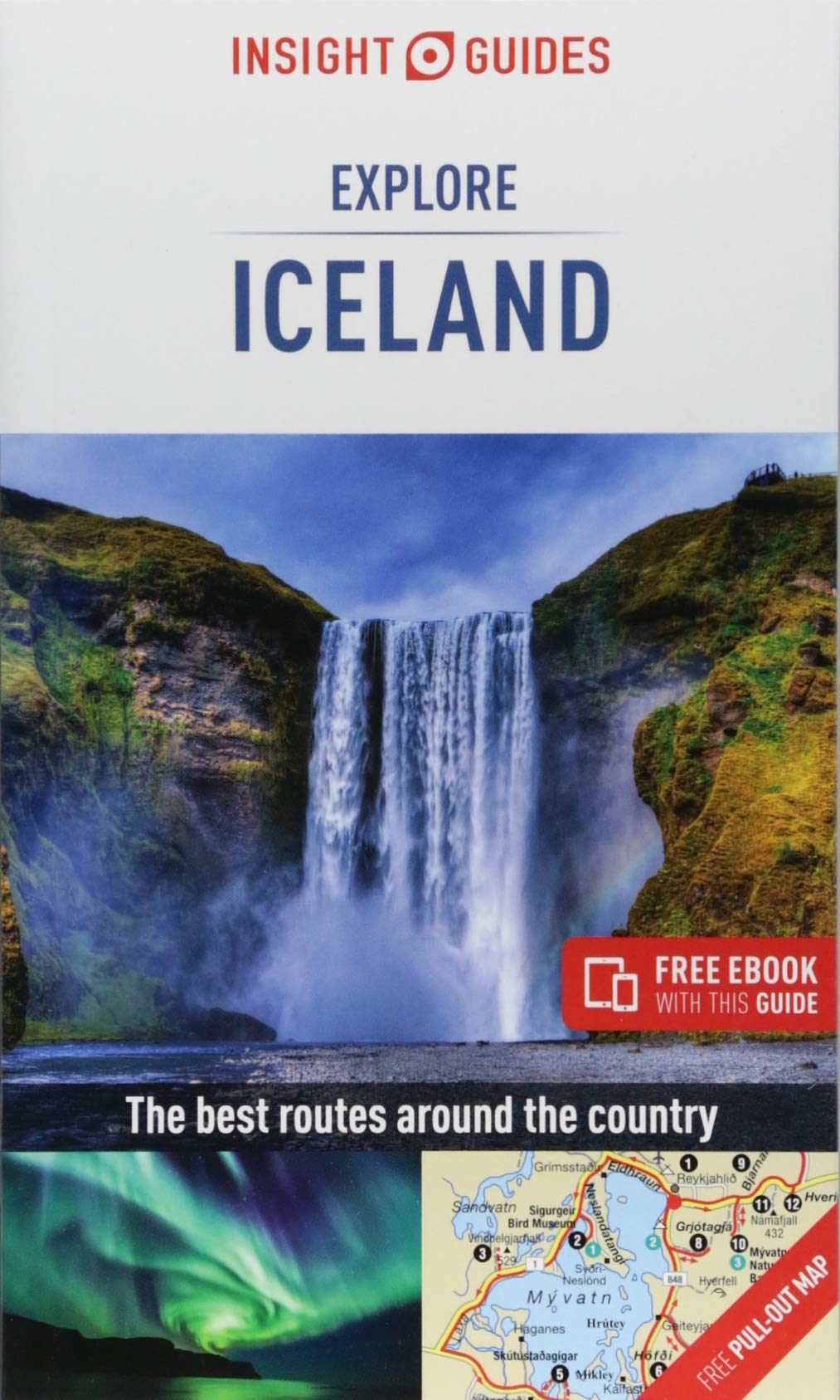 Insight Guides Explore Iceland (Insight Explore Guides) Paperback – August 1, 2018 1786718235 Northern Europe Scandinavia Guidebooks