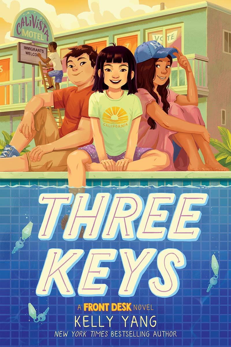 Three Keys (A Front Desk Novel): Yang, Kelly: 9781338591385: Amazon.com:  Books