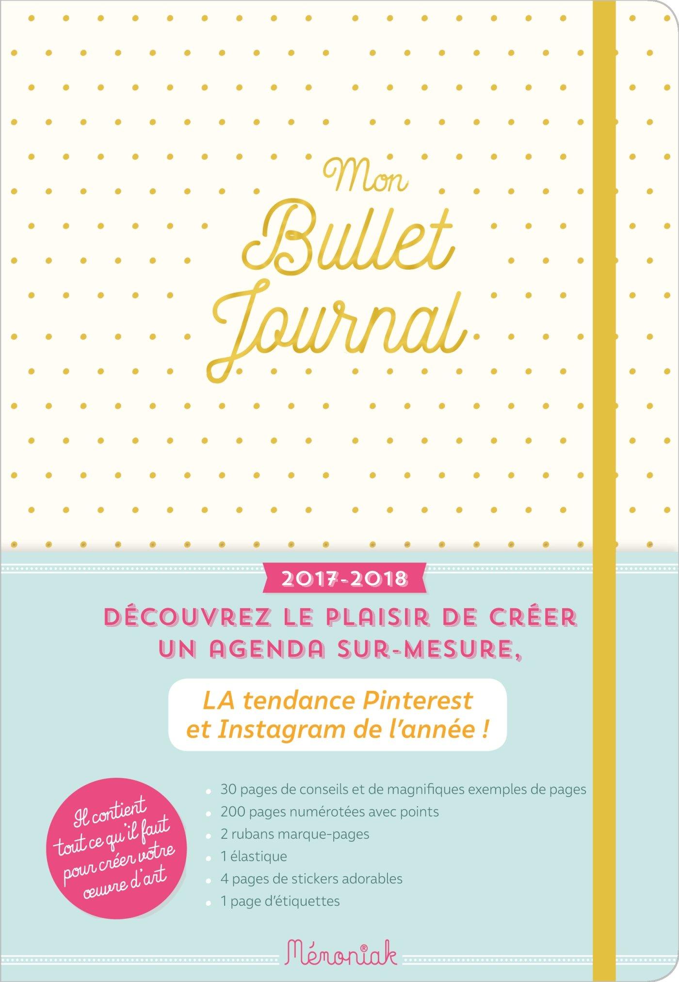 Mon bullet journal Mémoniak 2017-2018: Amazon.es: Maud Taron ...