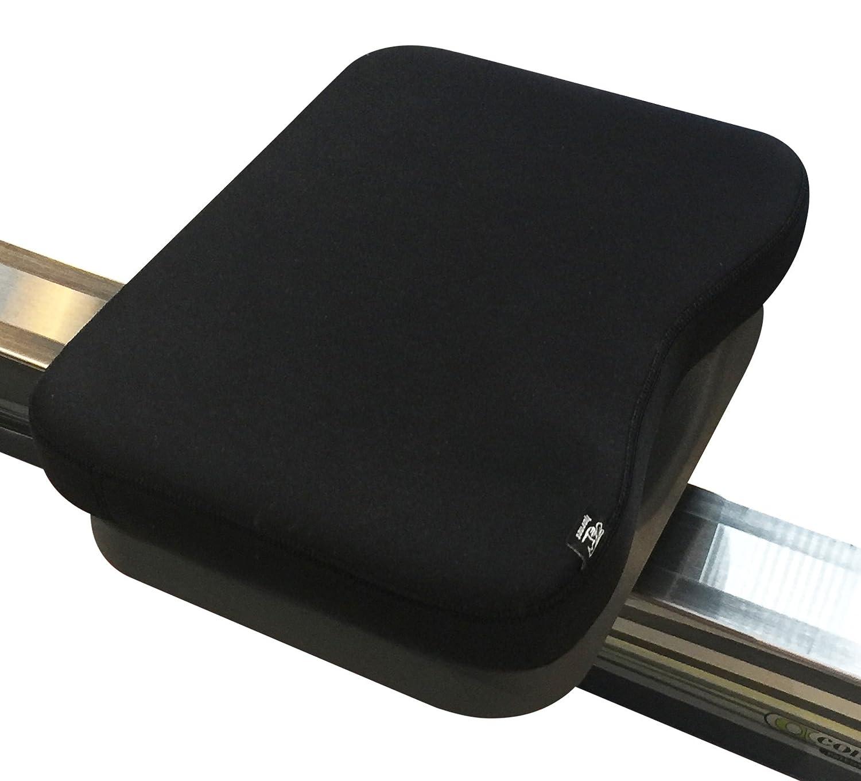 Memory espuma cojín hecho para concepto 2 máquina de remo, Negro: Amazon.es: Deportes y aire libre