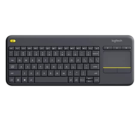 8313aeff60f Image Unavailable. Image not available for. Color: Logitech K400 Plus  Wireless Touch ...