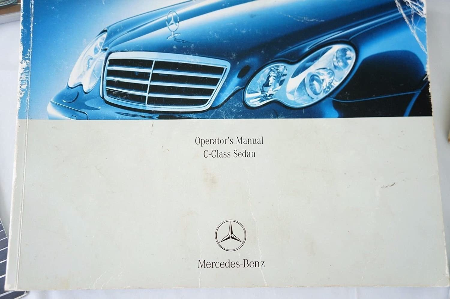Amazon.com: Mercedes C Class Owners Manual Set with Leather Case Books  Glove Box Set: Automotive