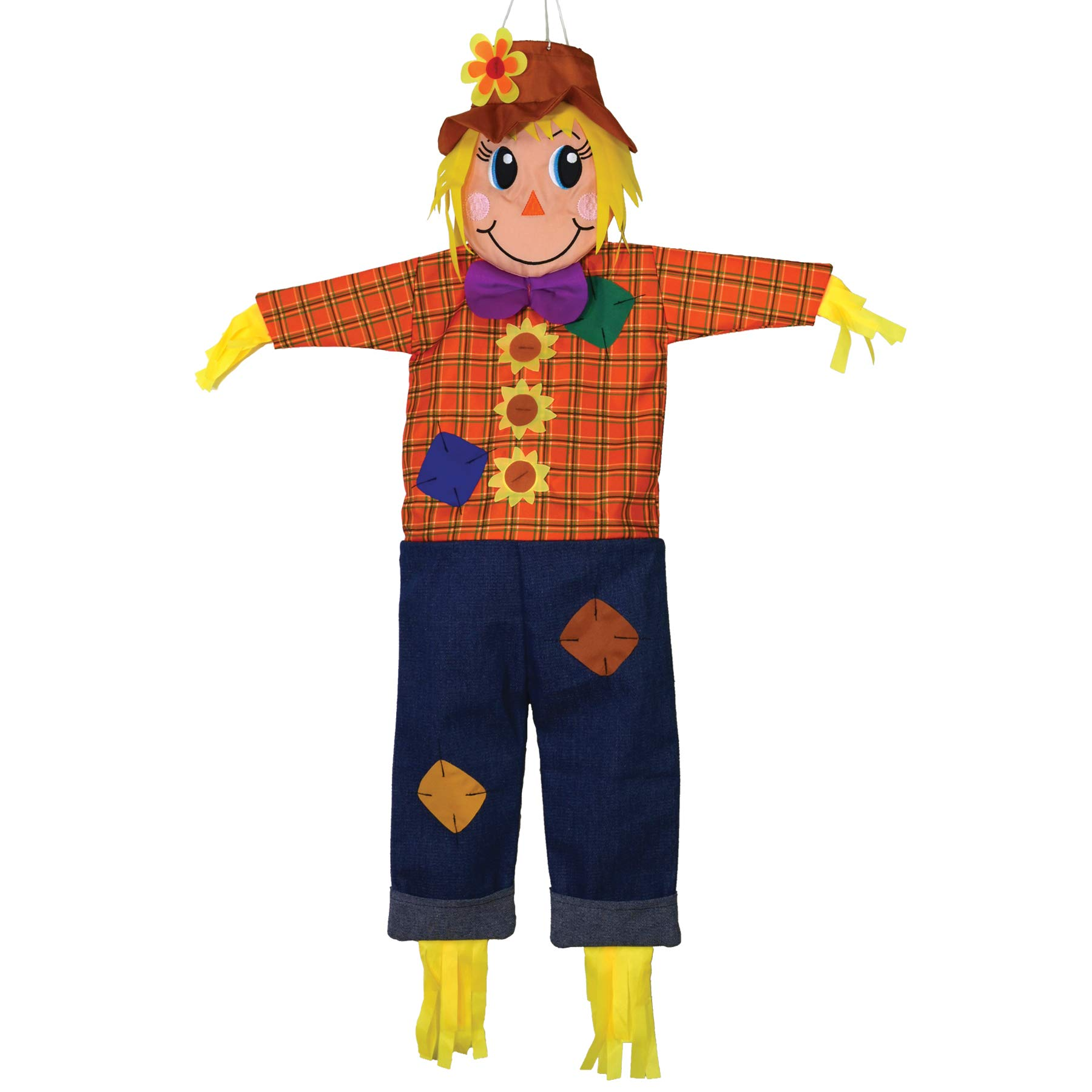 In the Breeze ITB-4274 Autumn Scarecrow Wind Friend 3D Windsock by In the Breeze