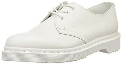 1461 Mono Smooth White, Unisex Adults Derby Lace-up Dr. 1461 Adultes Blancs Lisses Mono, Unisexe Derby Dr Lacets. Martens Martens