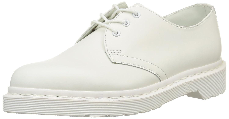 Dr. Martens Women's 1461 Mono Smooth Oxford B005Z1GIKK 3 White