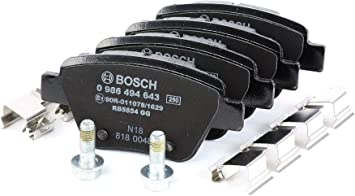 Bosch 986494643 Bremsbelag Auto