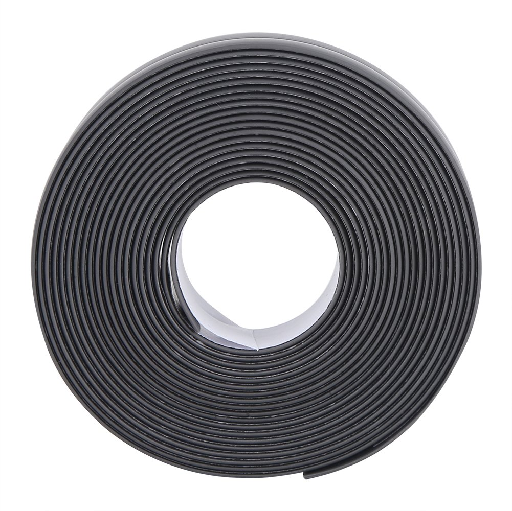 Bathtub Caulk Strip Silicone Self Adhesive Tub Bathroom Wall Sealing Tape Caulk Sealer Kitchen Counter Waterproof Mold Proof Flexible Peel Stick Caulking Tape Dark Grey(22mm*3.2M) GLOGLOW