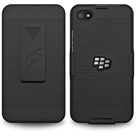 Amzer AMZ97575 Shellster Phone Case for BlackBerry Z30 (Black) Cases & Covers at amazon