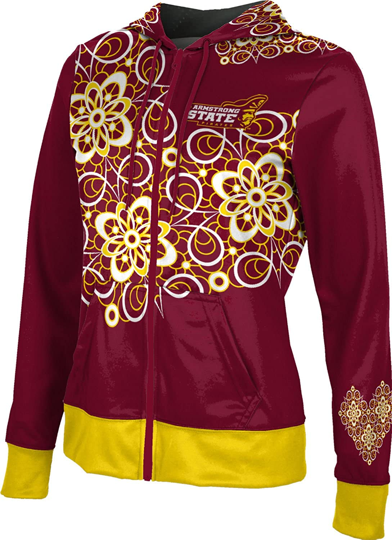 School Spirit Sweatshirt Foxy ProSphere Armstrong State University Girls Zipper Hoodie