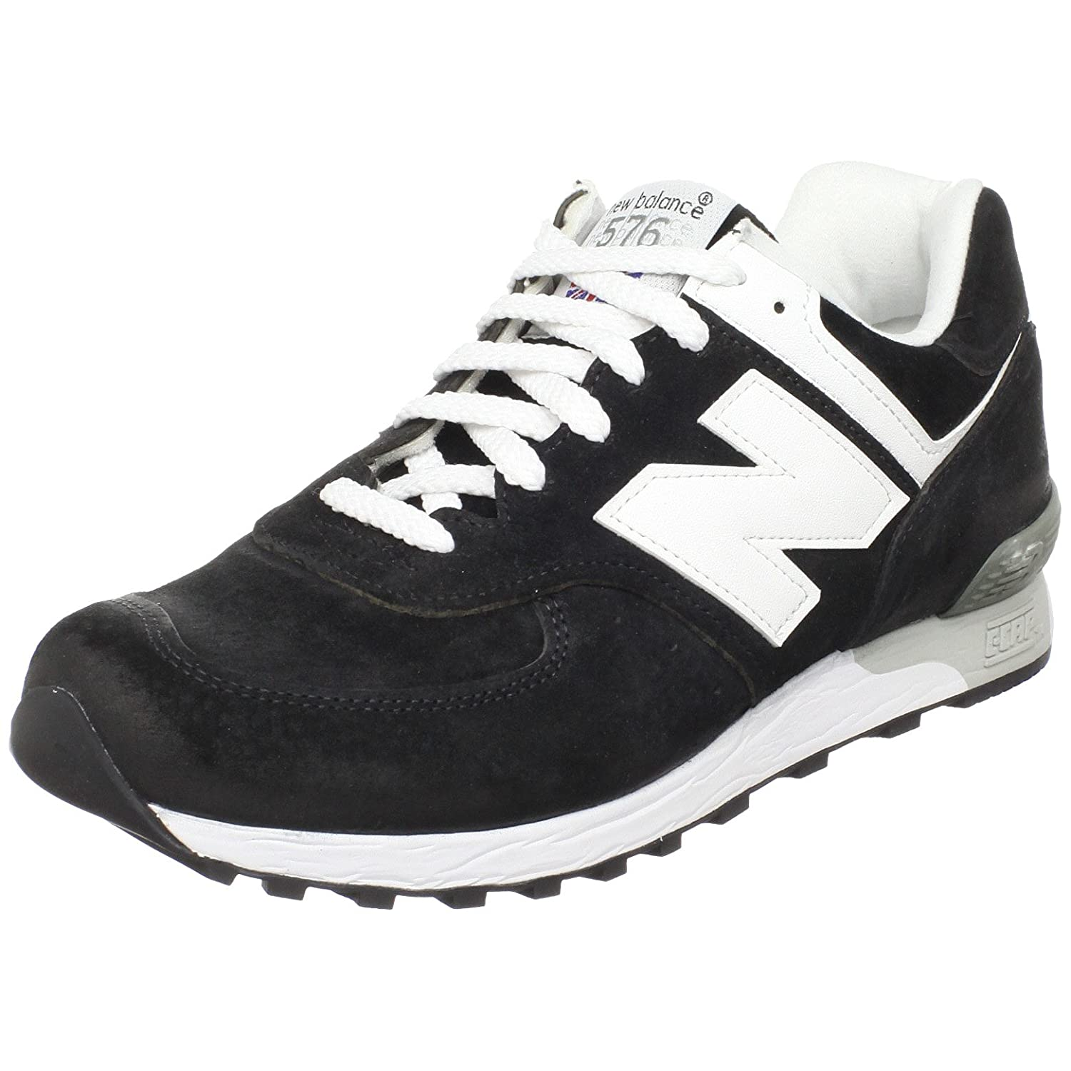 reputable site 2bacd a8195 New Balance 576 Women's Real Leather Sneaker Black W576KGS ...