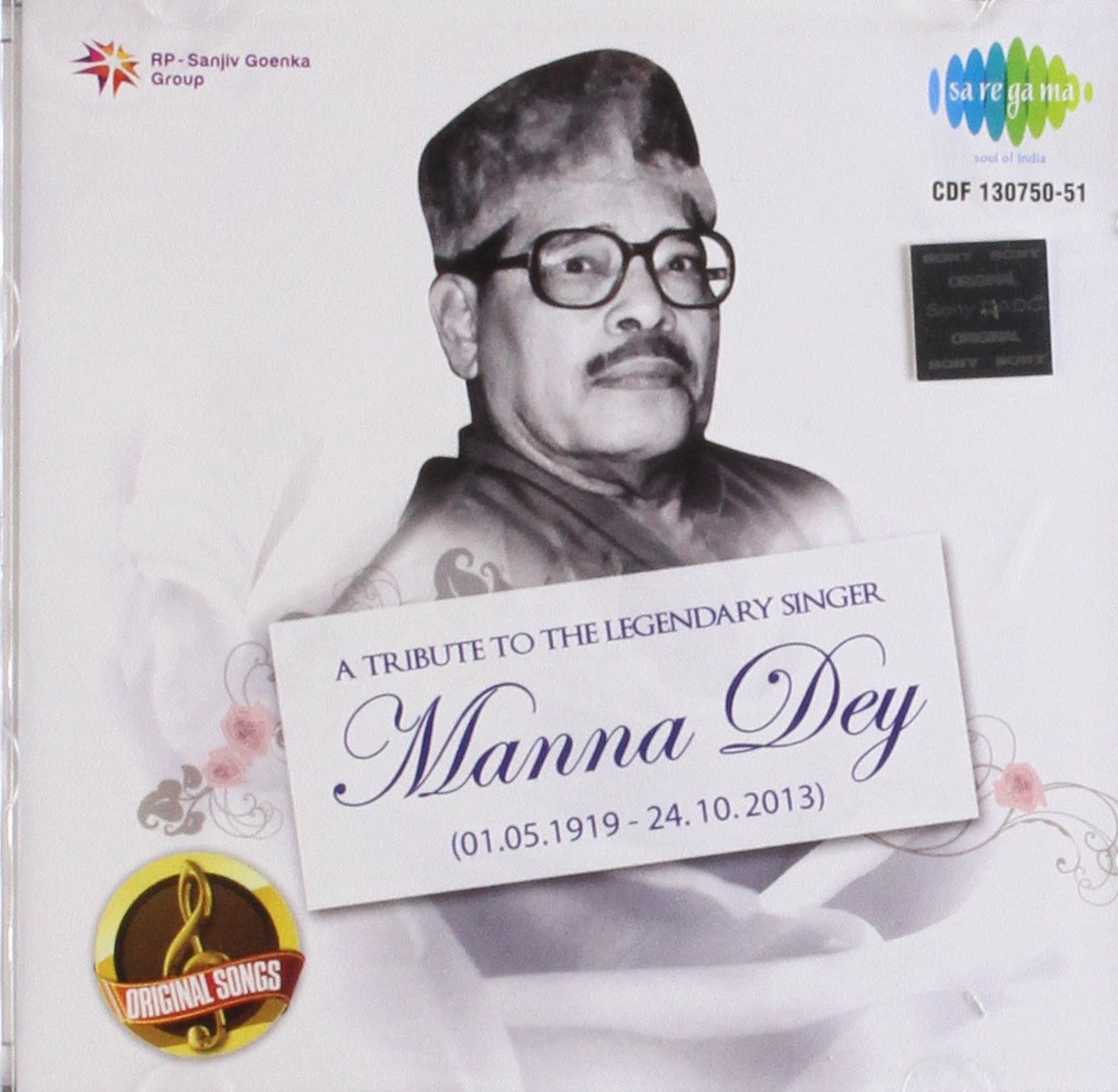 Various - A Tribute to Legendary Singer Manna Dey(hindi