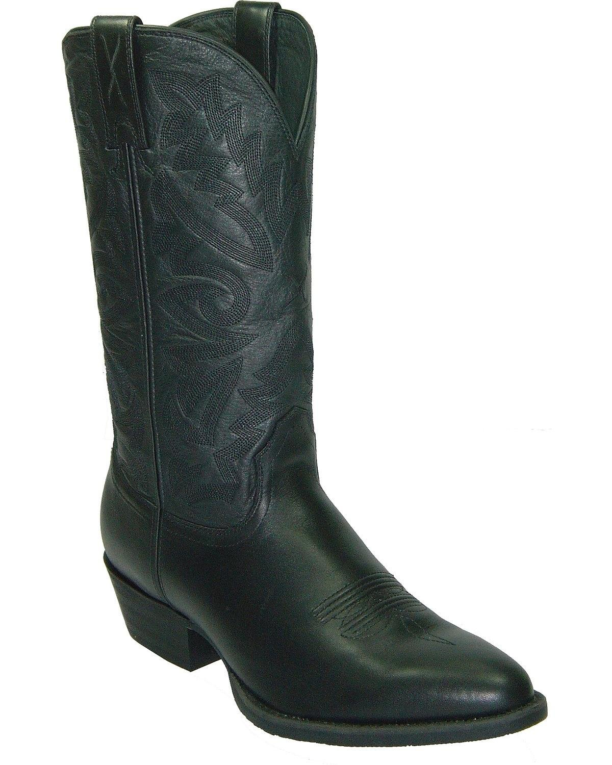 Twisted X Men's Western Cowboy Boot Round Toe Black 12 D(M) US by Twisted X