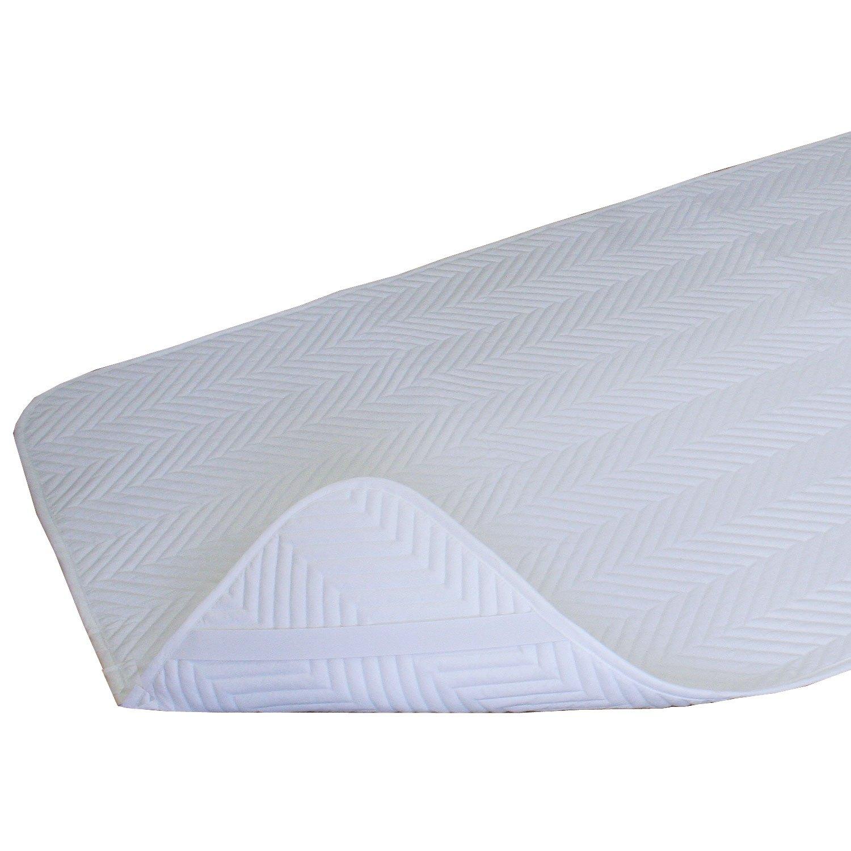 アンダーバー 抗菌防臭防ダニわたの快適ベッドパッド キング B00YDWN9N6 キング(180×195cm)  キング(180×195cm)