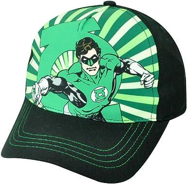 DC Comics Linterna Verde Superhero sublimación juventud Velcro ...