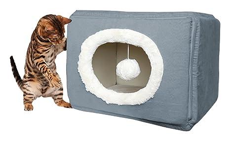 FurHaven Cubo de Cozy Pet Cama, pequeños, de Profundidad Piscina