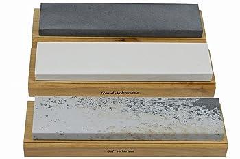 Best Sharpening Stonekansas Wood Mounted Set Of Sharpening Stone