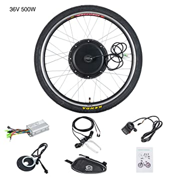 Mutisol Kit de conversión de Bicicleta eléctrica Ebike con Motor ...