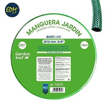 Manguera jardin basic line ø interior 15mm ø exterior 20mm (5/8) -