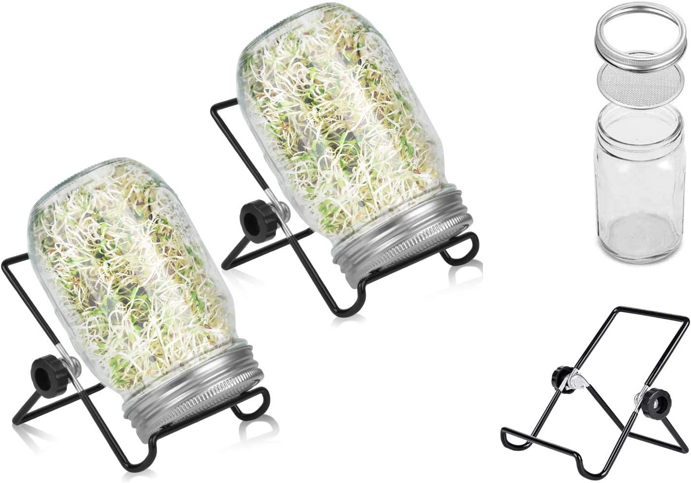 Seed Sprouting Jar Kit by Juzanl