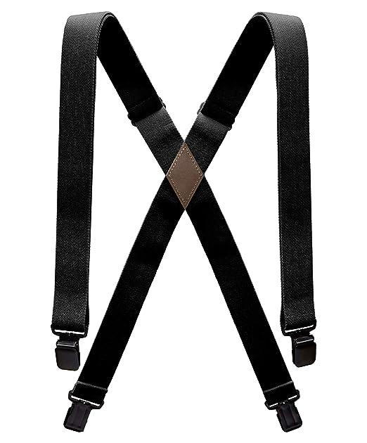 d6e73b32b Amazon.com  Arcade Belt Mens Jessup Suspenders  4 Point Heavy Duty ...