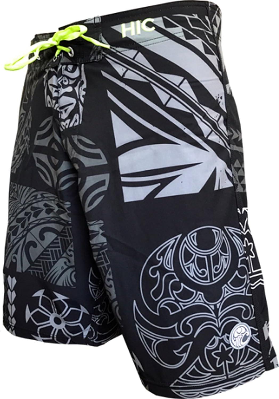 Hawaiian Island Creations (HIC) SWIMWEAR メンズ B075NMWK29 56|ブラック ブラック 56