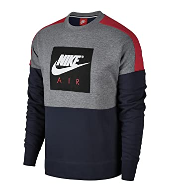 Sudadera Nike – Sportswear Air negro/rojo/blanco talla: M (Medium)