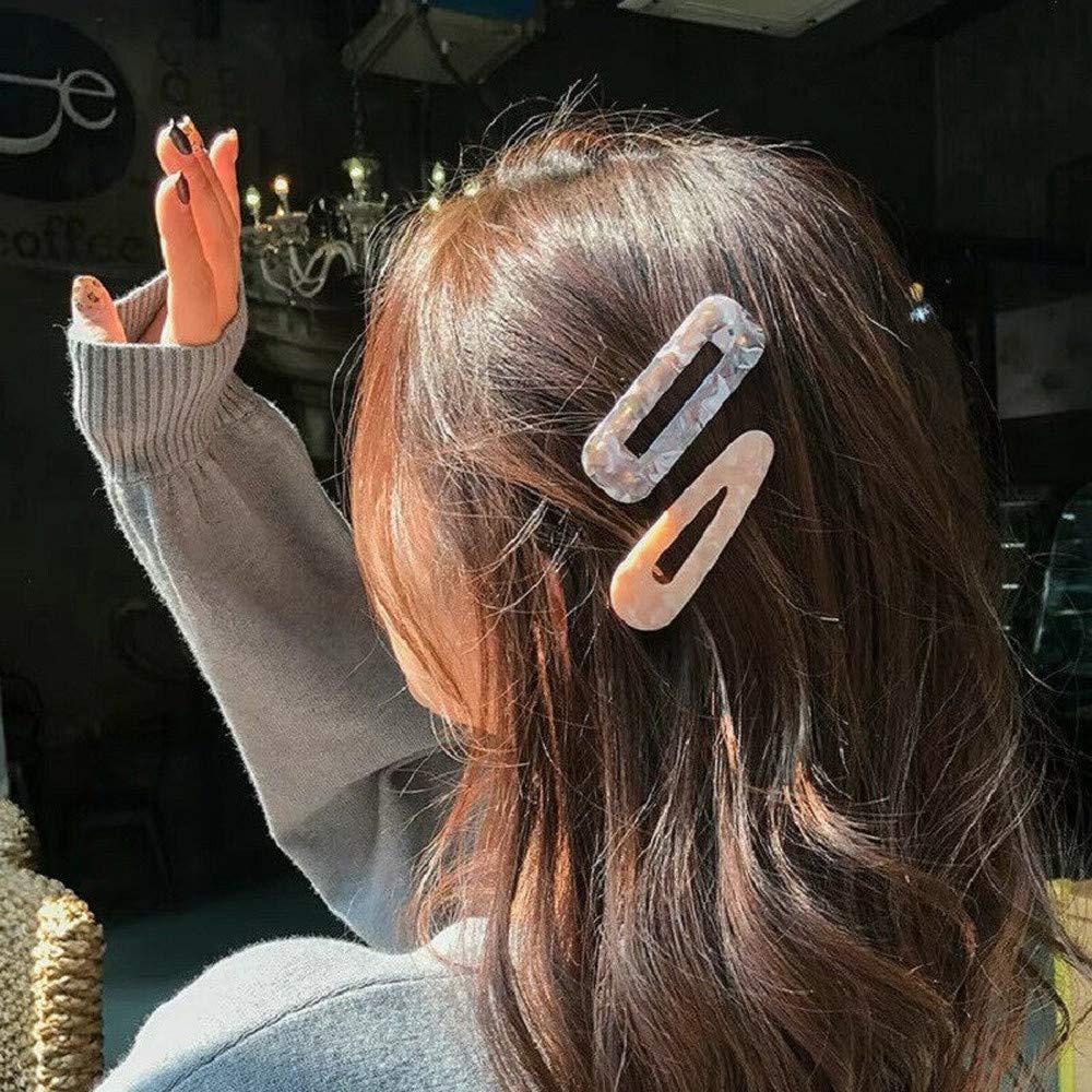 Fashion Leopard Hair Clip Bobby Pin Women Hairband Hairpin Barrette Comb Access