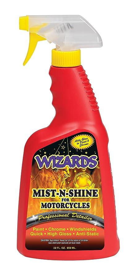 Wizards 22214 Mist-N-Shine Motorcycle Professional Detailer - 22 oz