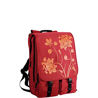 Amazon.com: Laurex BP115RE 17-Inch Laptop Backpack (Red ...