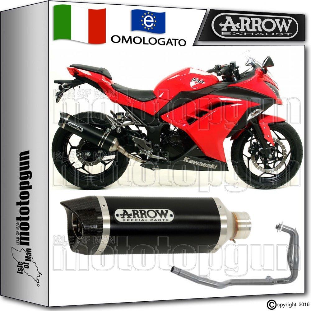 Arrow Escape Completo Hom Thunder Dark Carby Kawasaki Ninja ...