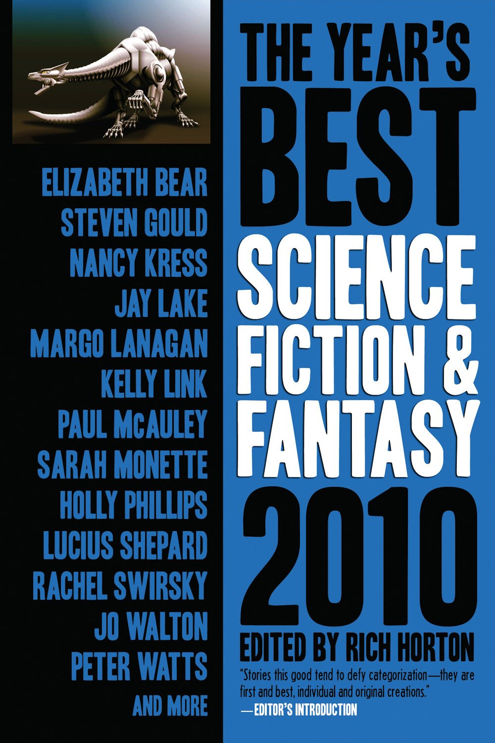 The Year's Best Science Fiction & Fantasy, 2010 Edition pdf