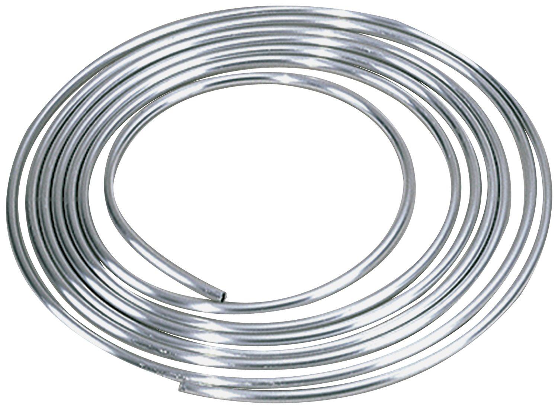 Allstar ALL40186 5/8'' Diameter 25' Aluminum Coiled Tubing Fuel Line