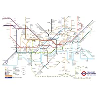 Transport For London Underground Map Maxi Poster 61x91.5cm