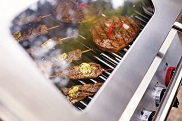 Enders Gasgrill Oakland 3 S Test : Enders bbq gasgrill monroe s turbo gas grill steak turbo