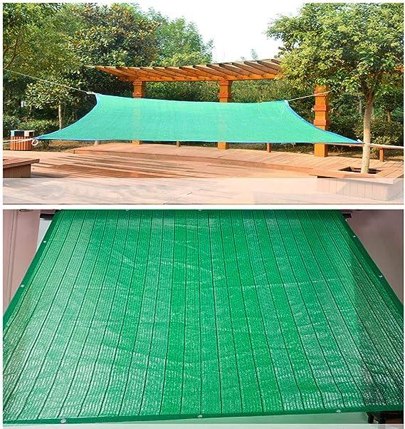 Malla de Sombra 70% Green Sunblock Sombra Tela UV Resistente Tela ...