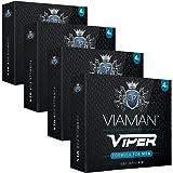 Pastillas para la Erección Viaman Viper 16 Unidades - Evita La Eyaculación Precoz Y Mejora El…