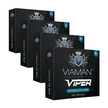 Pastillas para la Erección Viaman Viper 16 Unidades - Evita La Eyaculación Precoz Y Mejora El Rendimiento Sexual: Amazon.es: Salud y cuidado personal