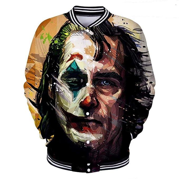 Disfraz de Joker Hombres Niños Sudaderas con capucha de Halloween ...