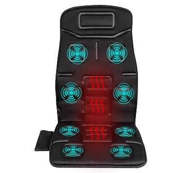 Amazon.com: Naipo masajeador de espalda silla de masaje ...