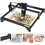 Upgraded Laser Engraver 20W, Eye Protection 5000mw Laser Engraving Cutting Machine CNC, Fixed-Focus Precise DIY Laser Marking