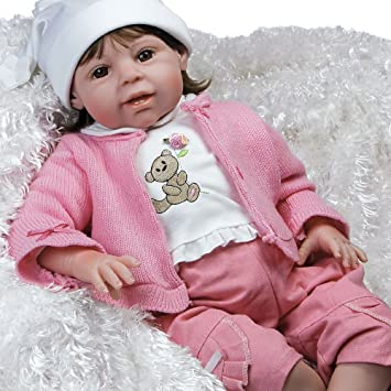 Amazon Com Paradise Galleries Reborn Baby Doll Like Lifelike