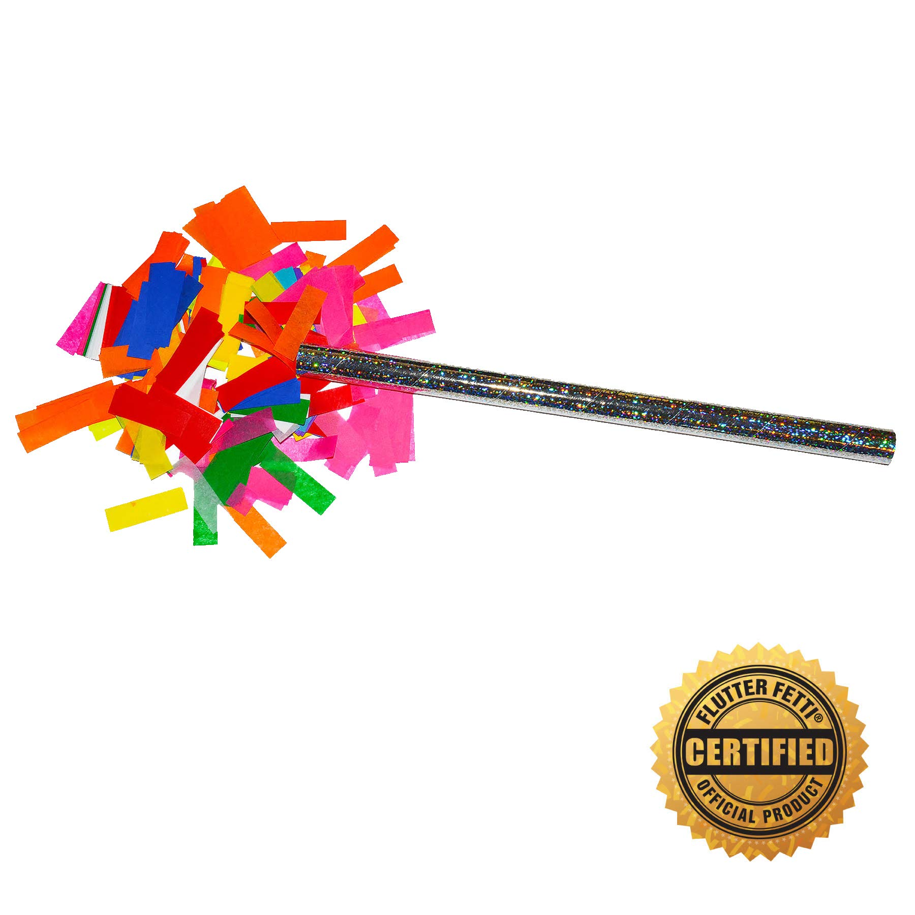 Confetti Sticks Multicolor Tissue Confetti Paper Confetti Flickers by Flutter FETTI® 14inch - 10pieces