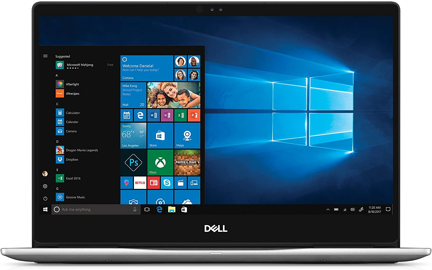 "Dell Inspiron 13 7000 7370 Laptop - (13.3"" Touchscreen IPS FHD (1920x1080), 8th Gen Intel Quad-Core i5-8250U, 256GB SSD, 8GB DDR4, Backlit Keyboard, Windows 10)"