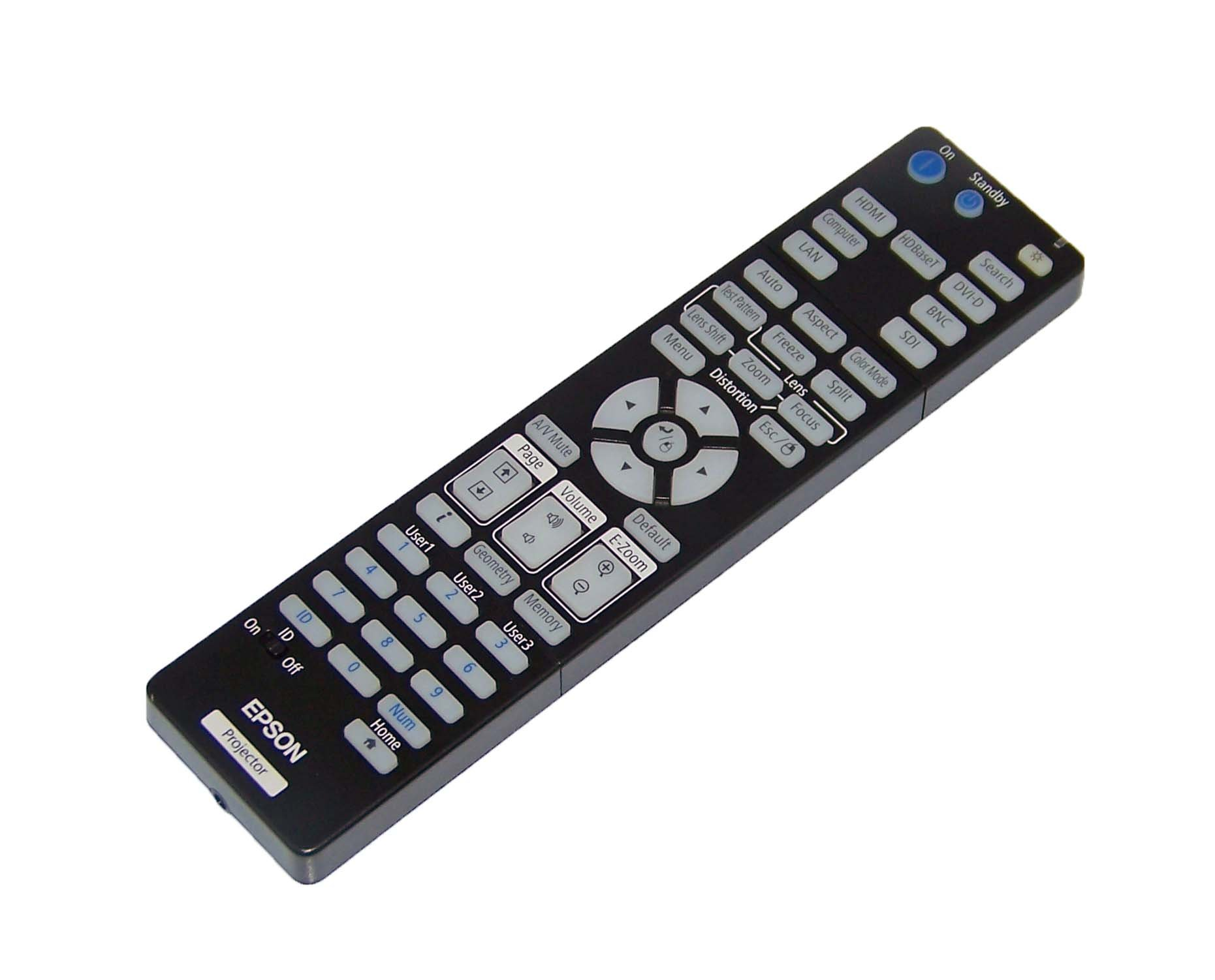 OEM Epson Projector Remote Control for Epson Pro L1500U, L1505U, L1405U, L1300U, L1200U, L1100U