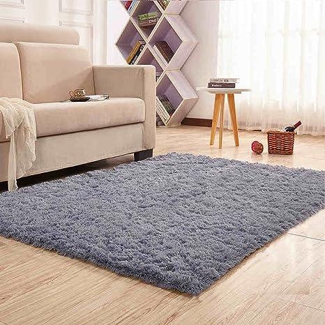 Noahas Super Soft Modern Shag Area Rugs Fluffy Living Room Carpet Comfy  Bedroom Home Decorate Floor