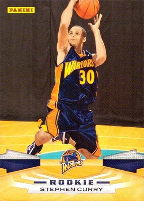 5100914ce Amazon.com  2009 Panini Basketball  357 Stephen (Steph) Curry Rookie Card -  Near Mint to Mint  Sports Collectibles